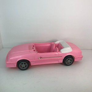 1993 Barbie Corvette Sports Car No Steering Wheel